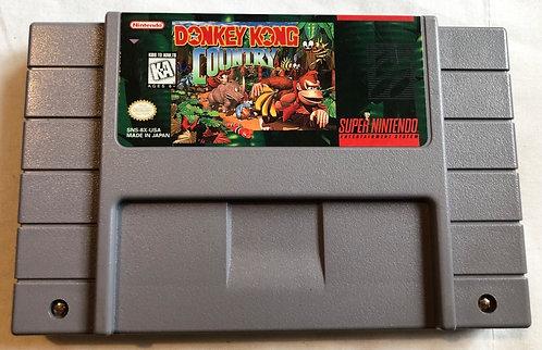 Donkey Kong Country Nintendo NES U.S.A (NTSC) 1991