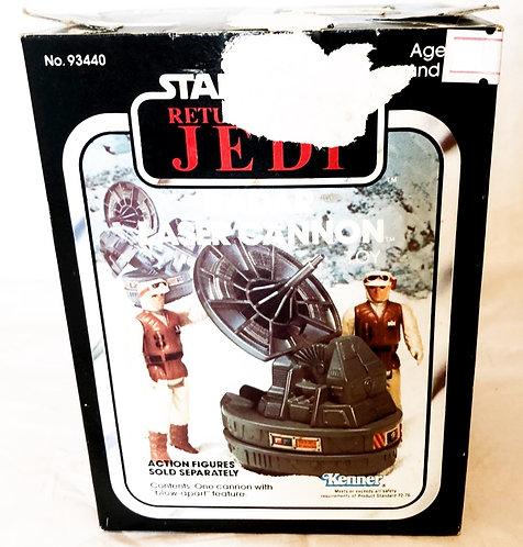 Vintage Star Wars Retrun Of The Jedi Radar Laser Cannon