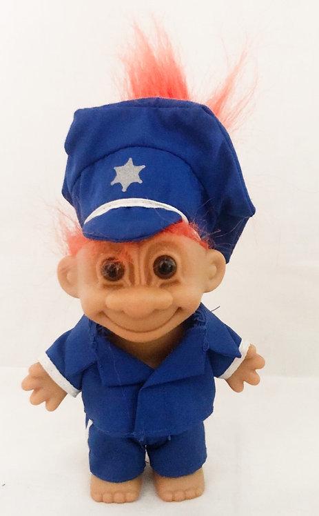 Police Troll Orange Hair Russ