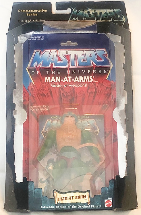 He-man And The Masters Of The Universe Man-At-Arms Commemorative Mattel 2000