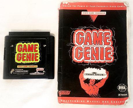 Game Genie Mega Drive Galoob U.K. (PAL)
