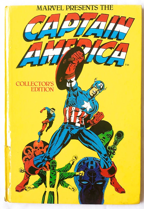 Captain America Collectors Edition Annual 1981