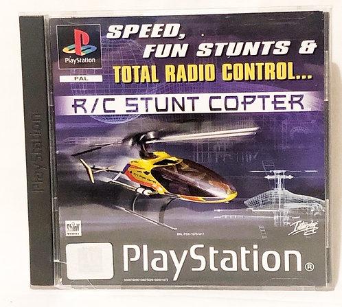 R/C Stunt Copter PlayStation Game U.K. (PAL)