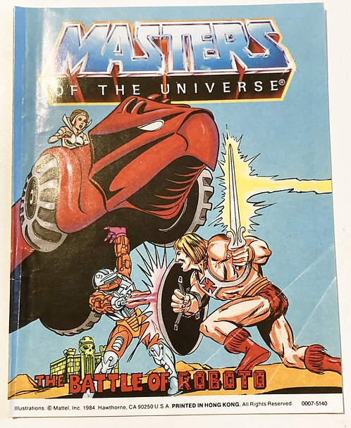 He-Man And The Masters Of The Universe The Battle Of Roboto