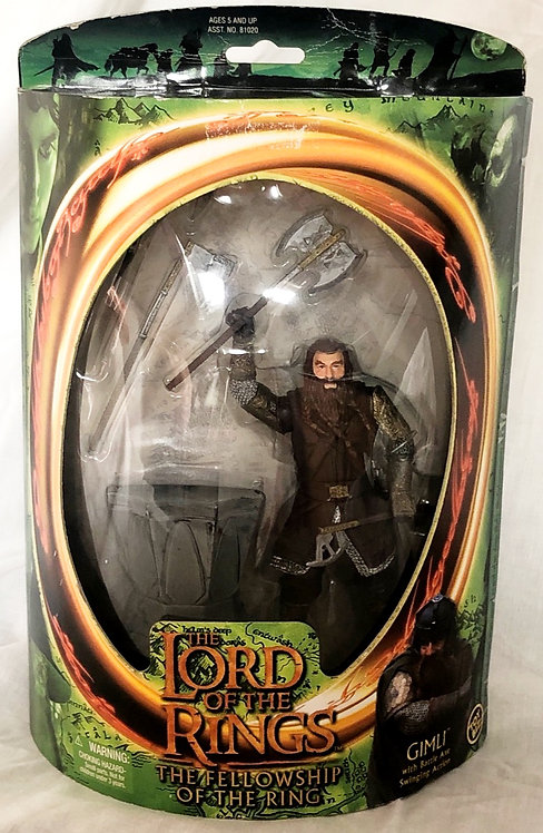 The Lord Of The Rings The Fellowship Of The Ring Gimli Toy Biz