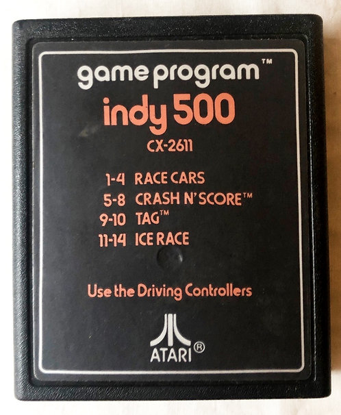 Indy 500 Atari 2600 U.K. (PAL)