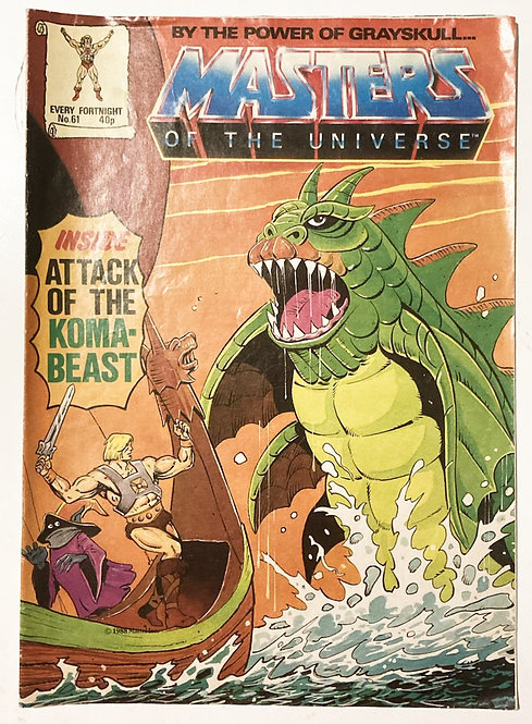 He-Man And The Masters Of The Universe Comic U.K. #61 1988