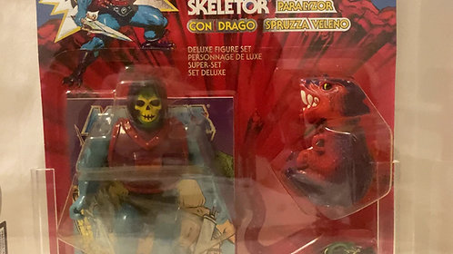 He-Man And The Masters Of The Universe Dragon Blaster Skeletor Euro 8 Back