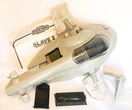 Vintage Star Wars Slave-1 Kenner 1980