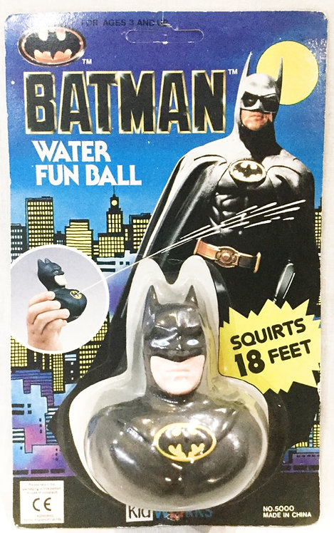 Batman Water Fun Ball Kidworks 1989