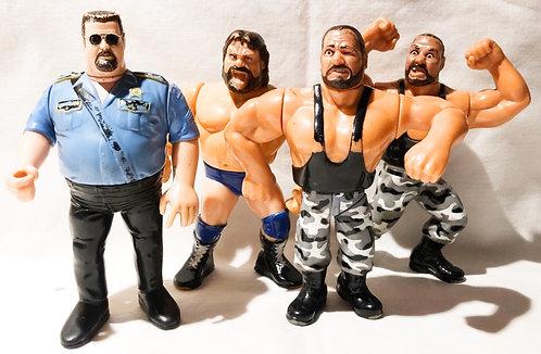 Vintage WWF Figure Set