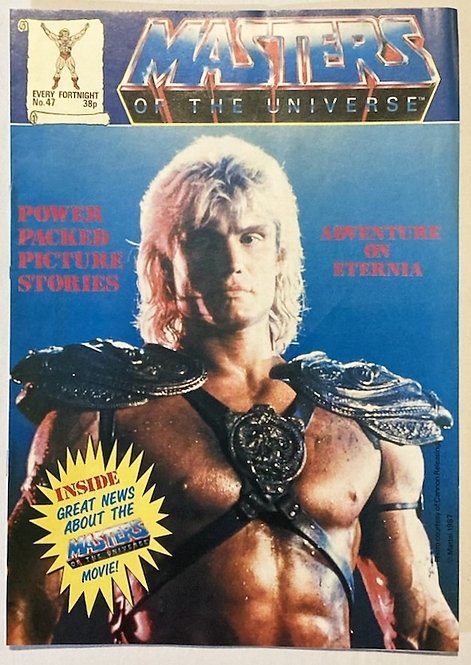 He-Man And The Masters Of The Universe Comic No 47 1987