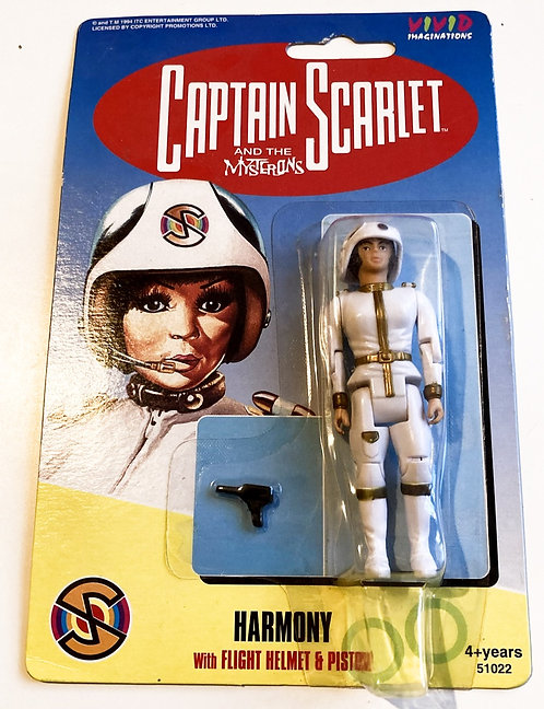 Captain Scarlett And The Mysterons Harmony Vivid