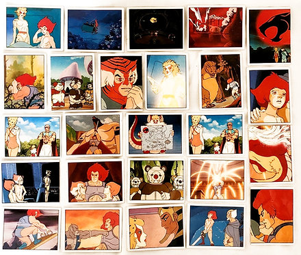 25 Thundercats Sticker (Set One) 1986