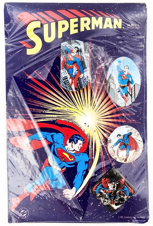 Superman Badge Set 1988