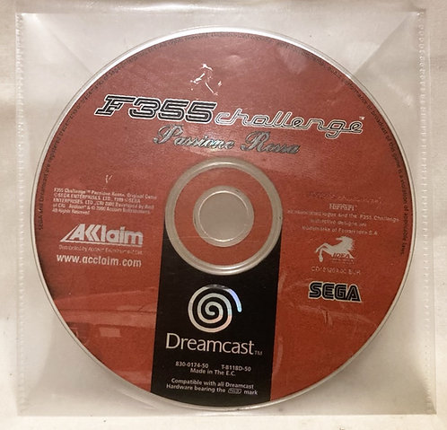 Sega Creamcast F356 Challenge Disc Only PAL
