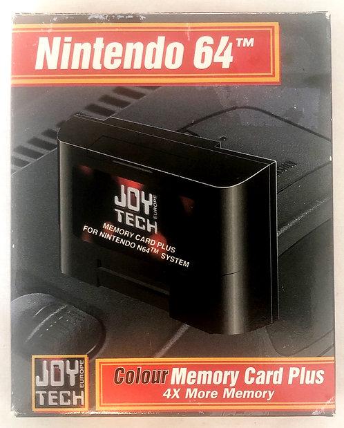 Nintendo 64 Colour Memory Card Joy Tech