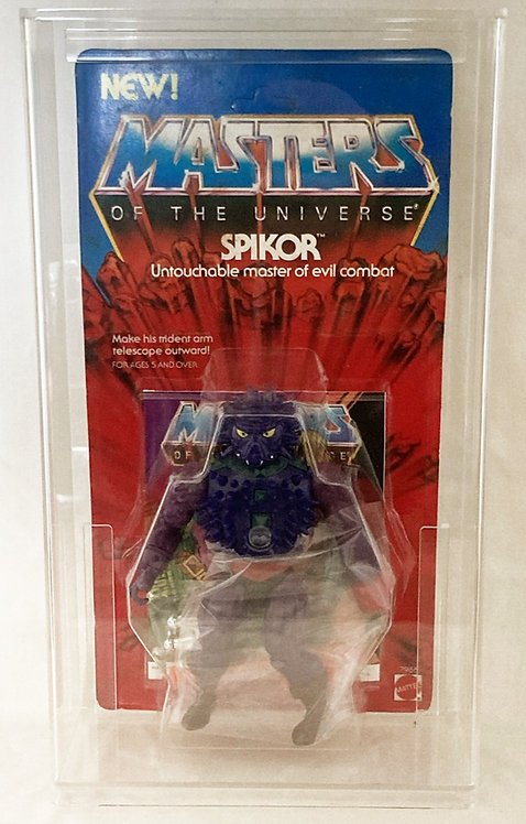 He-Man And The Masters Of The Universe Spikor With Acrylic Case Mattel 1984