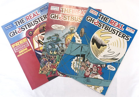 The Real Ghostbusters Comics x 3 (UK)