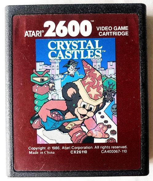 Crystal Castles Atari 2600 U.K. (PAL)