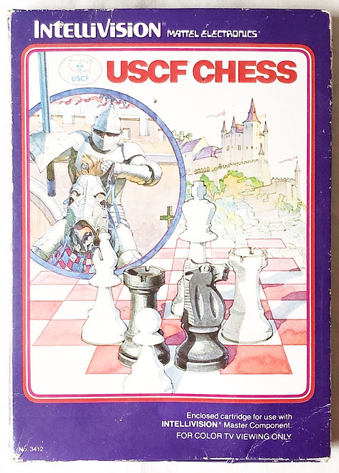 USCF Chess Intellivision Intelligent Television U.K. (PAL)