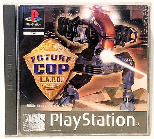 Future Cop L.A.P.D. PlayStation Game U.K. (PAL)