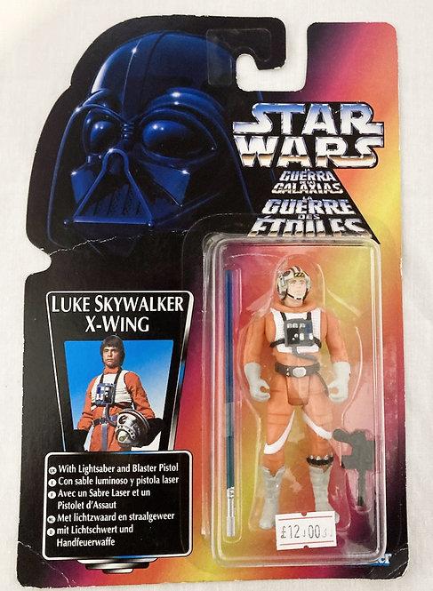 Star Wars The Power Force Luke Skywalker X-Wing Tri-Logo Kenner 1996