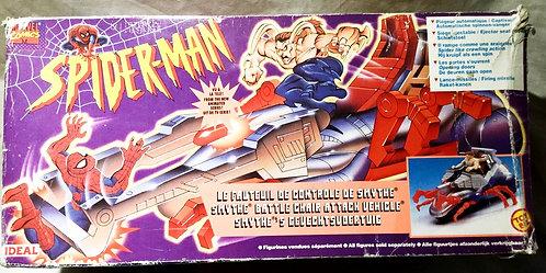 Spider-Man Smythe Battle Chair Vehicle Toy Biz 1994