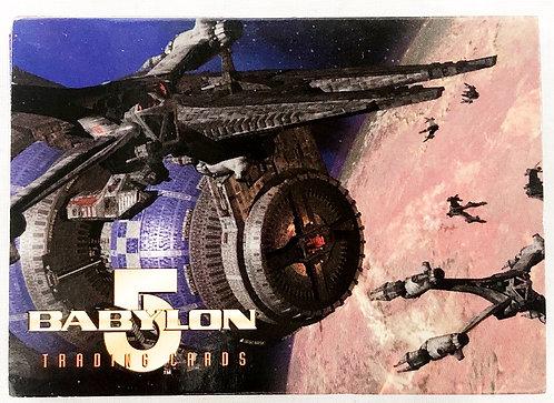 Babylon 5 Trade Cards Skybox 1996
