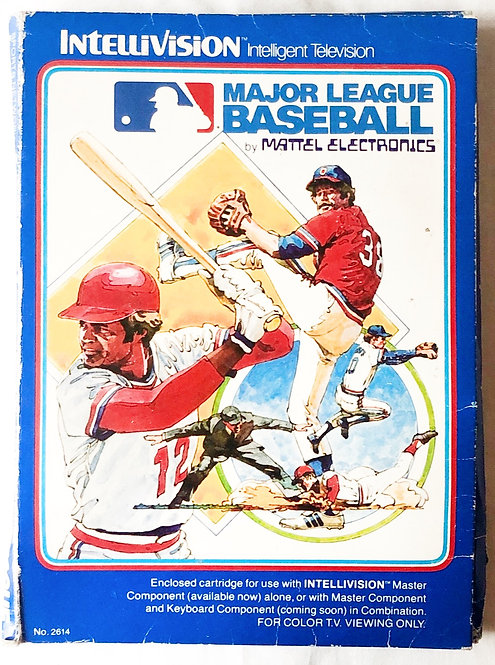 Major League Baseball Intellivision Intelligent Television U.K. (PAL)