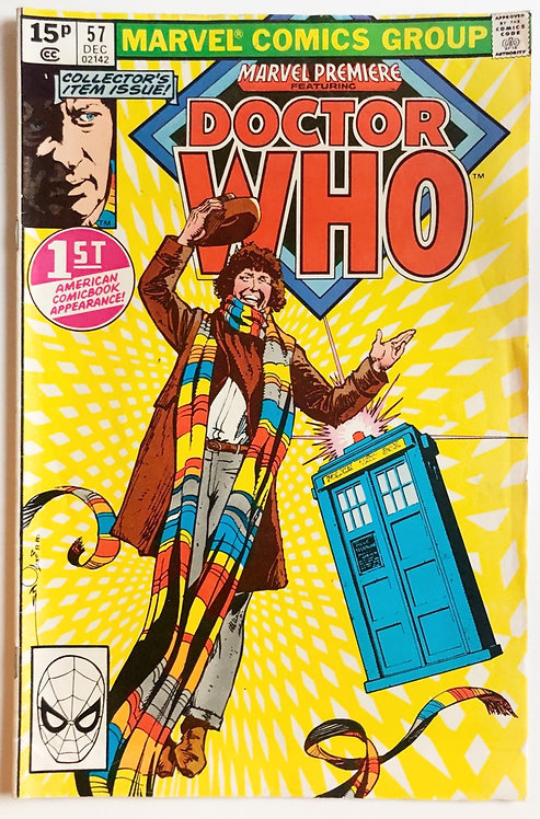 Marvel Premiere Featuring Doctor Who First Appearance #57 December 1980