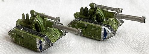 Epic 40K Space Marine Basilisk Madro Cannon Set Workshop 1991
