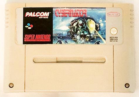 Cybernator Nintendo SNES U.K. (PAL) 1992