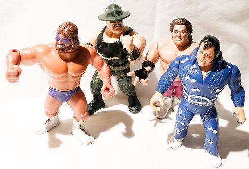 Vintage WWF Figure Set Hasbro