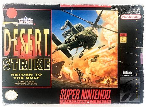 Desert Strike Super Nintendo SNES U.S.A/CAN