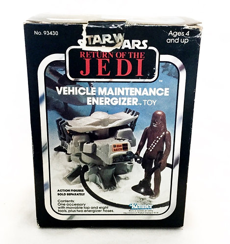 Vintage Star Wars Return Of The Jedi Kenner Vehicle Maintenance Energizer Kenner