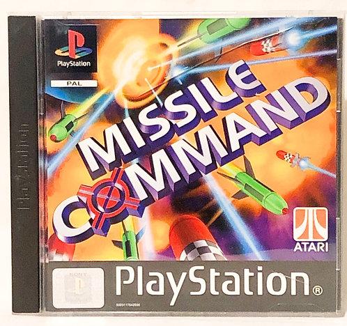 Missile Command PlayStation Game U.K. (PAL)