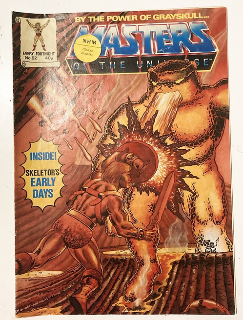 He-Man And The Masters Of The Universe Comic U.K. #52 1988