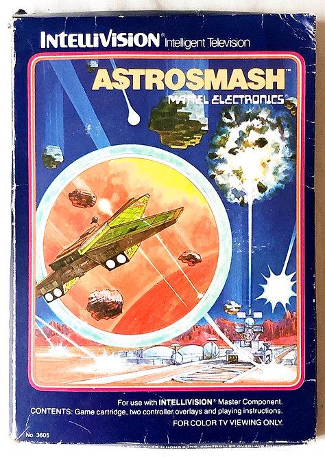Astrosmash Intellivision Intelligent Television U.K. (PAL)