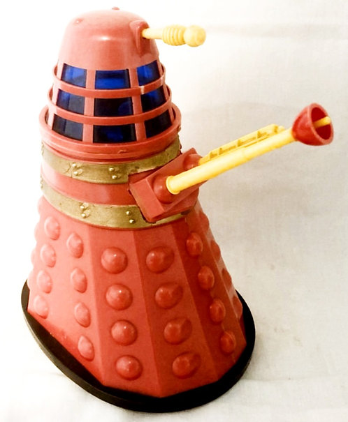 Vintage Red Bump and Go Dalek Marx 1965