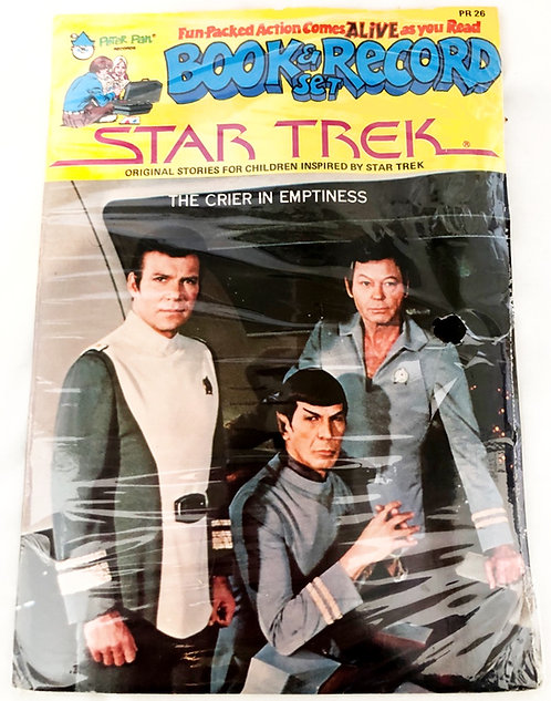 Star Trek Book And Record Set The Crier In Emptiness 1979
