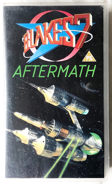 Blakes 7 Aftermath VHS 1990