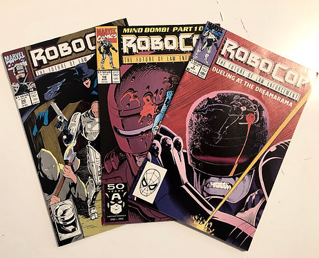 Robocop - The Future Of Law Enforcement (Set of 3)
