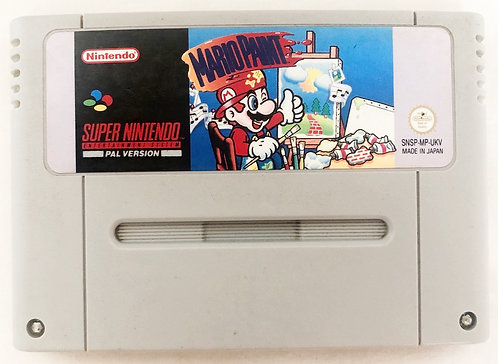 Mario Paint Super Nintendo SNES U.K. (PAL)