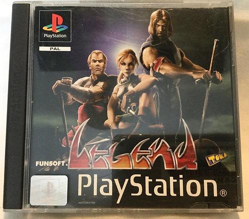 Legend PlayStation Game UK PAL