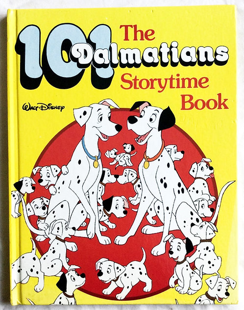 Disney The 101 Dalmatians Storytime Book 1984