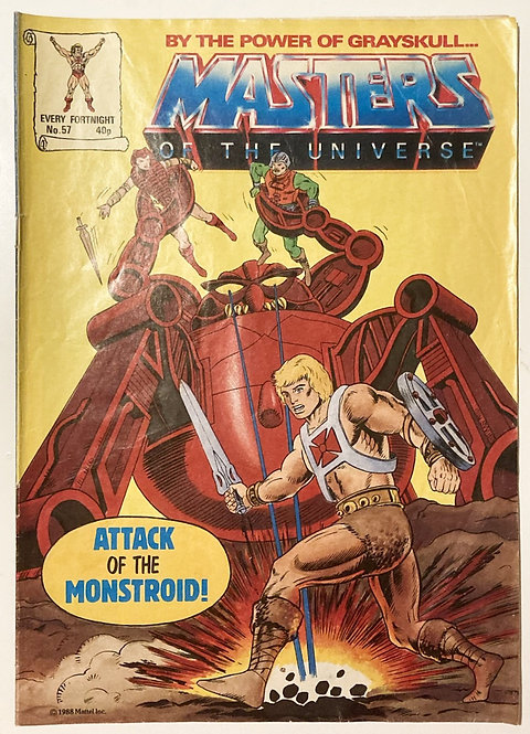 He-Man And The Masters Of The Universe Comic U.K. #57 1988