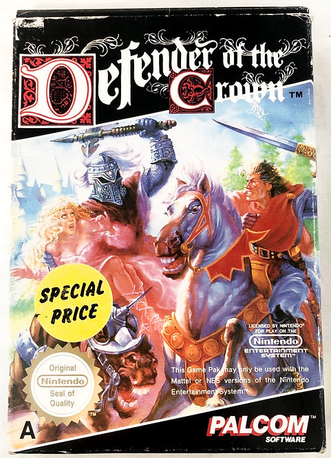 Defender Of The Crown Nintendo NES U.K. (PAL)