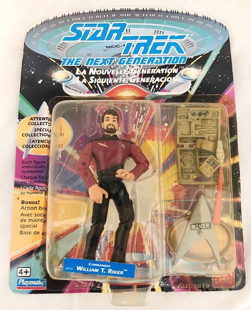 Star Trek Next Generation William T. Riker Playmates 1992