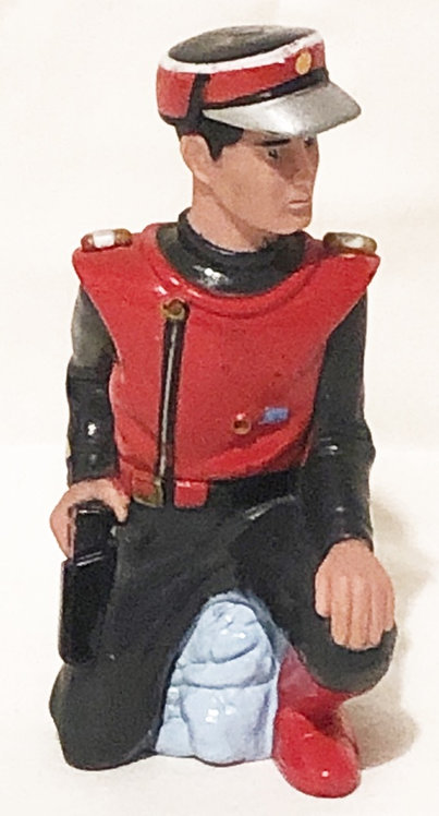 Captain Scarlet Bubble Bath Bottle Top 1991 (B)